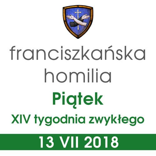 Homilia: piątek XIV tygodnia - 13 VII 2018