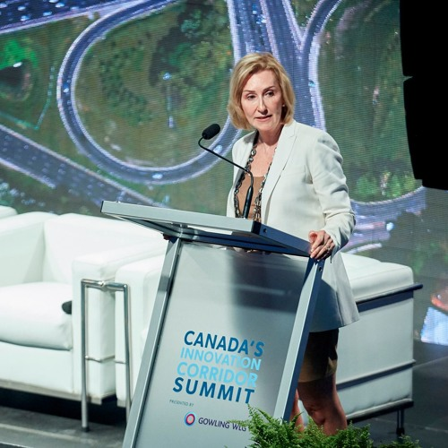TRBOT CEO Jan DeSilva Announces Release Of Regional Movement Of Goods Report At 2018 Corridor Summit