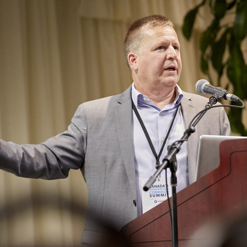 Public Views On Technology, Data & Automation Talk By MIKE COLLEDGE Of Ipsos At 2018 Corridor Summit