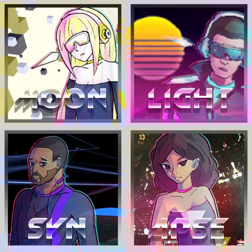 【Vocaloid5 Original】Moonlight Synapse【Chris, Amy, Cyber Songman, Cyber Diva】