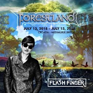 Flash Finger @ Forestland Festival 2018-07-14 Artwork