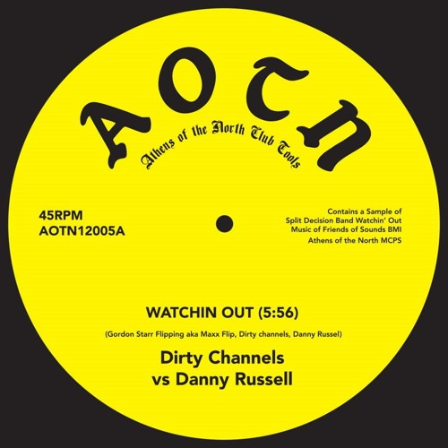 AOTN12005A Side Dirty Channels Vs Danny Russell Watchin Out (MC MSTR1) 44 16