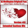 Dj Wellington Originall Feat. LaRoxx Project - Goodbye My Love (Extended Sanfona Mix Version #03)