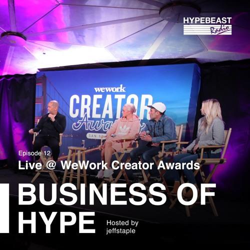 Live at WeWork Creator Awards