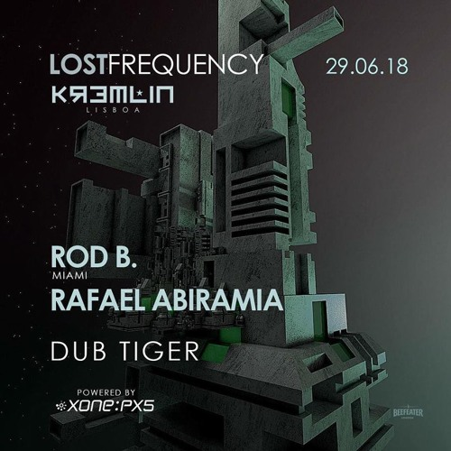 Rod B. Live @ Lost Frequency, Kremlin Lisbon, June 2018