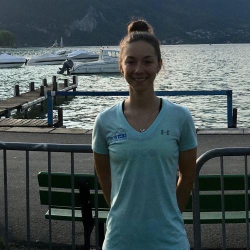 Shannon Malseed, Australian champion (pre-race, La Course)