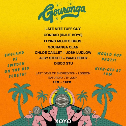 Late Nite Tuff Guy - Gouranga Day Party - Last Days of Shoreditch - July 7th