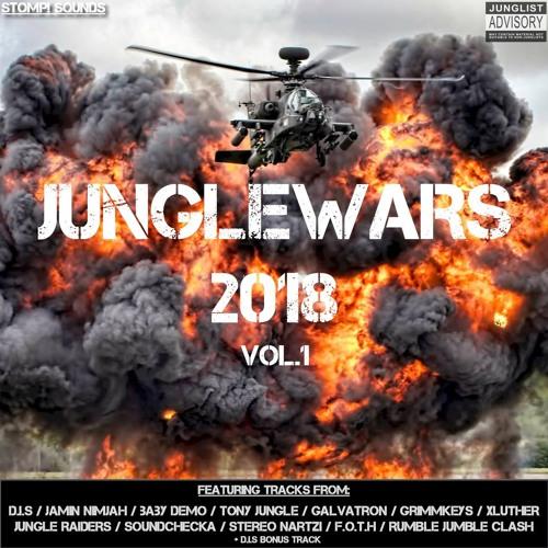 JUNGLEWARS 2018 VOL.1 2018 [LP]