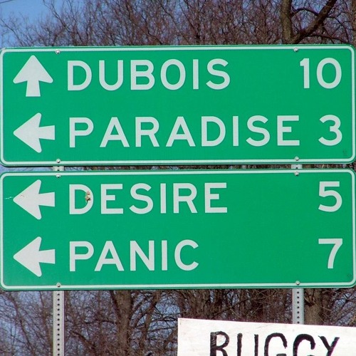 """Between Panic and Desire"" sound design"