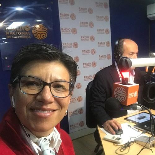 Claudia López realizó pedagogía de la Consulta Anticorrupción en Radio Nacional de Colombia