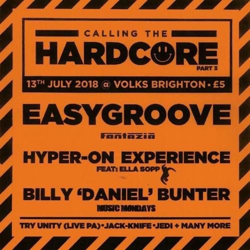 DJ Jedi Live @ Calling The Hardcore, Brighton, July 2018