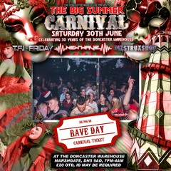 Andy Freestyle B2B Skandal with MC Ben Rushin - Big Summer Carnival Doncaster Warehouse June 18