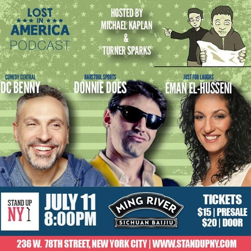 #93: Live From Stand Up NY with Donnie Does, Monroe Martin, DC Benny and Eman El-Husseini