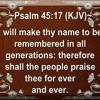 Psalm 45 (Live 7-15-18)