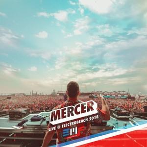 MERCER @ ElectroBeach Festival France 2018-07-13 Artwork