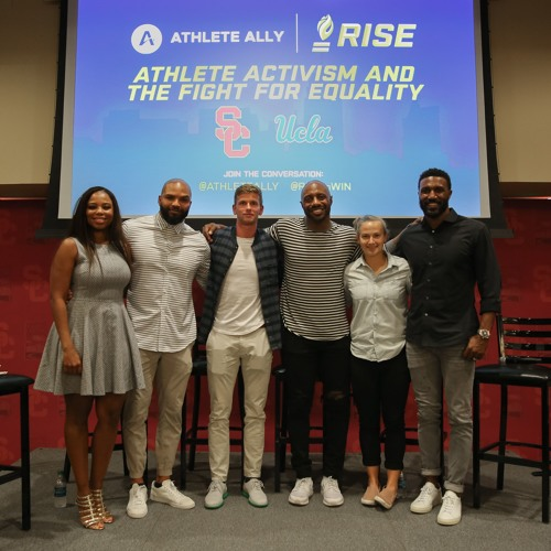 Athlete Activism and the Fight for Equality:  Part I - panel moderated by Jemele Hill