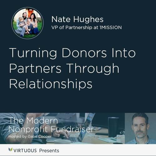 Nate Hughes, VP of Partnerships at 1MISSION