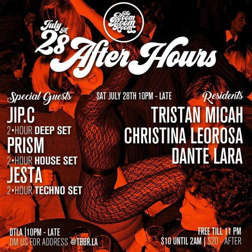 TBBR: July After hours Promo Mix