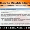 How to Disable Microsoft Office Activation Wizard Popup?
