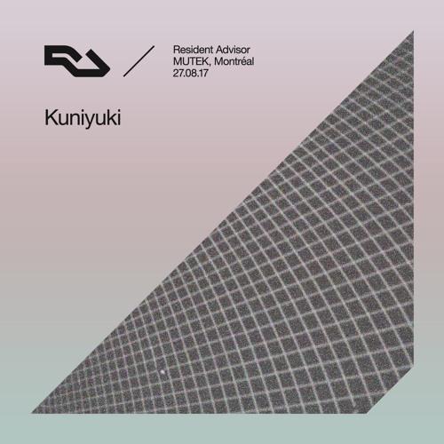 RA Live - 2017.08.27 - Kuniyuki, MUTEK, Montréal