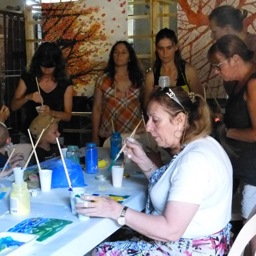 Raquel Moron en residència artística a Arles