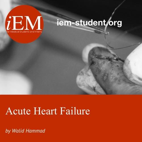 Acute Heart Failure - Walid Hammad