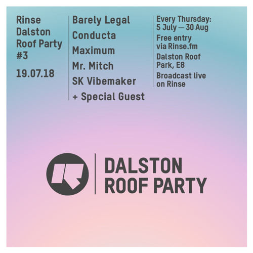 Murlo b2b Mr Mitch (Live from Dalston Roof Party) - 19th July 2018