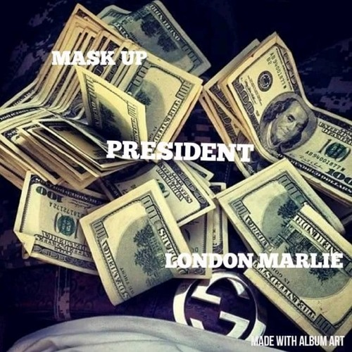 Mask up x London Marlie - President