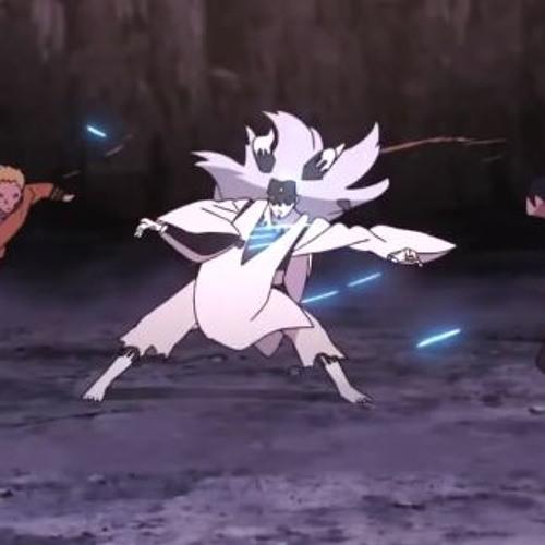 Naruto Sasuke Boruto Vs Momoshiki