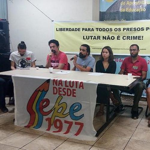 Condenados em protestos de 2013 denunciam criminalização de mobilizações populares