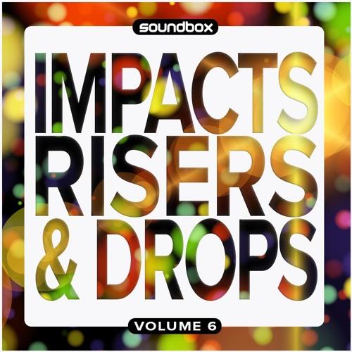 Soundbox Impacts Risers and Drops 6 WAV