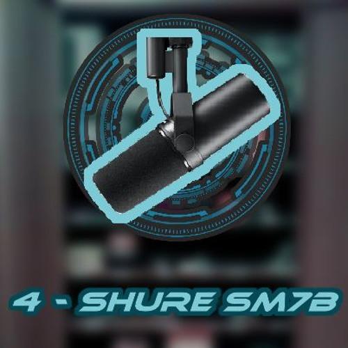 Demo de Microfone Nº4 - Shure SM7B