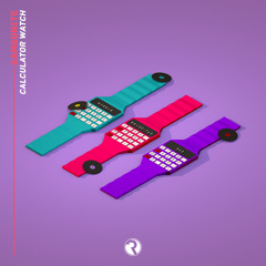 Samsonite - Calculator Watch