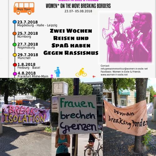 Women breaking Borders - Frauenbustour gegen Rassismus und Sexismus