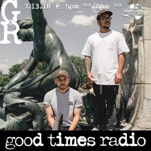 GTA & Beauty Brain - Good Times Radio 004 2018-07-13 Artwork
