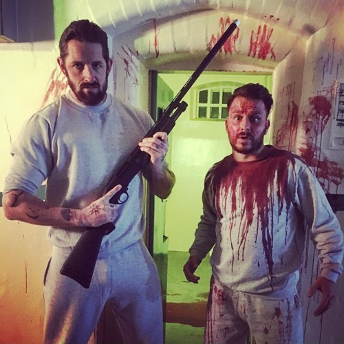 Ep 64 Stu Bennett talks Fanged Up with director Christian James and Giles Alderson