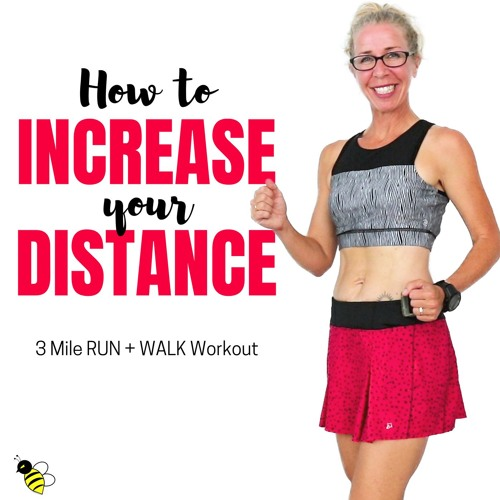 GOING LONG | 3 Mile 40 Minute RUN + WALK 🏃 | How to Increase Your RUNNING DISTANCE
