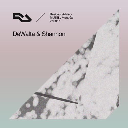 RA Live - 2017.08.27 - DeWalta & Shannon , MUTEK, Montréal
