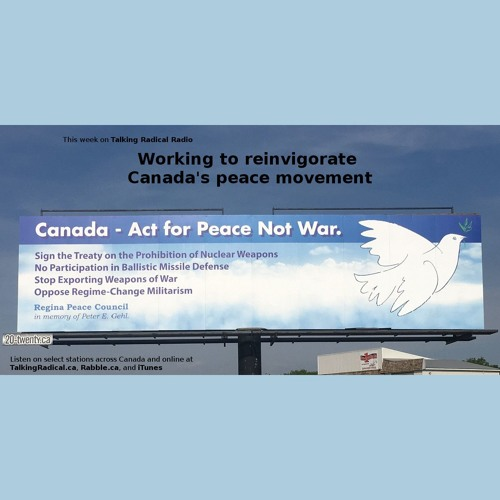 Working to reinvigorate Canada's peace movement