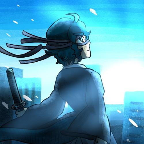 眠れる青の残響剣士