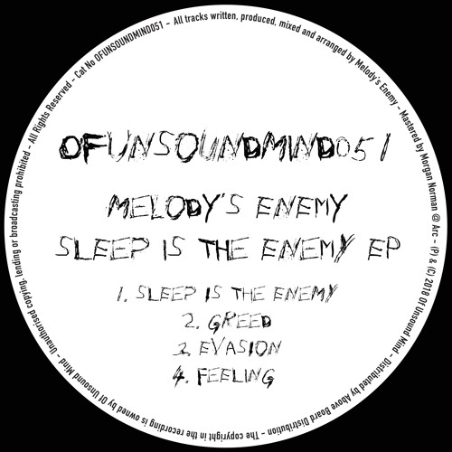 Premiere: Melody's Enemy - Sleep Is The Enemy [Of Unsound Mind]