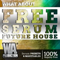 FREE Serum Future House   36 Xfer Serum Presets