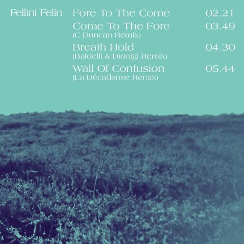 PREMIERE : Fellini Félin - Breath Hold (Baldelli & Dionigi Remix)