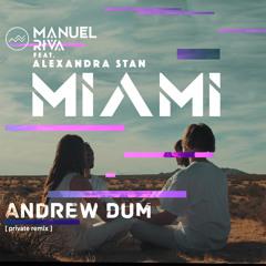 Manuel Riva - Miami (feat. Alexandra Stan) [Andrew Dum Private Remix]