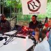 Plateau radio 2 au square Charles Hermite dans le 18e