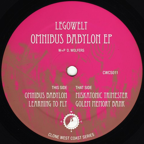 Legowelt - Omnibus Babylon EP [CWCS011]
