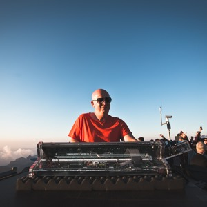 Stephan Bodzin @ Schilthorn - Piz Gloria 2018-07-23 Artwork