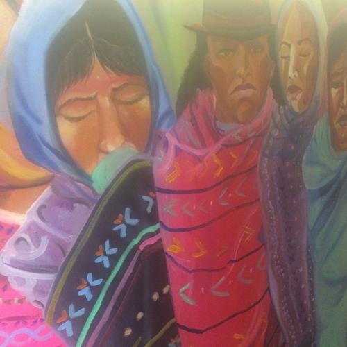 Strokes Ft. Yadira Cazares on canvas