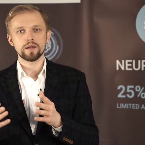 Sergey Nikolenko the Chief Research Officer at Neuromation