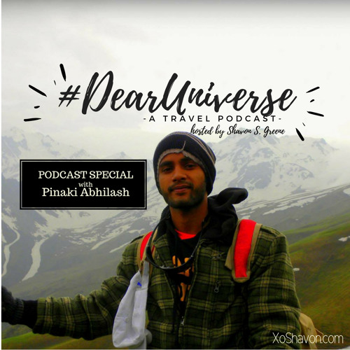 #DearUniverse: Journey to America with Pinaki Abhilash
